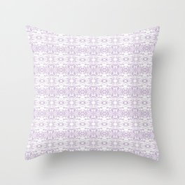 *PURPLE_PATTERN_6 Throw Pillow