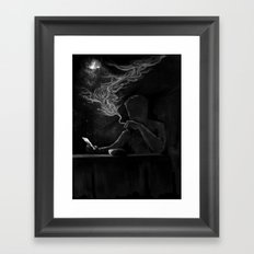 Twisted Reflection Framed Art Print