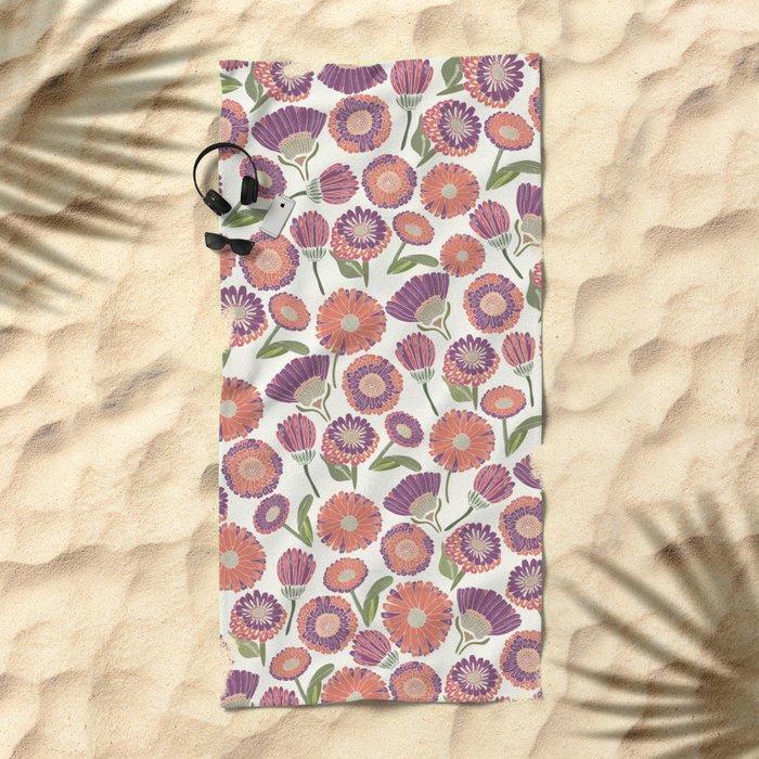 Our Florals Beach Towel