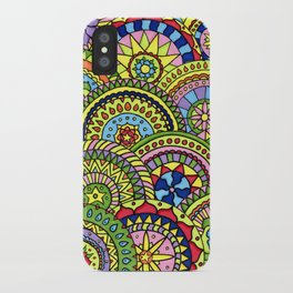 Wheels of fortune iPhone Case