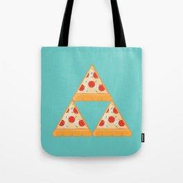 Tri-Pizza Tote Bag