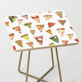 Pizza Pattern Side Table
