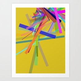 Oblique N°1 Art Print
