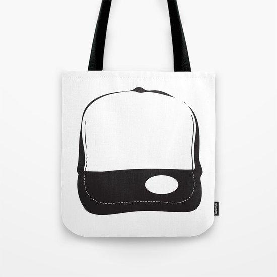 No Logo Cap Tote Bag