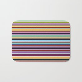 Colorful Symphony of Summer Bath Mat