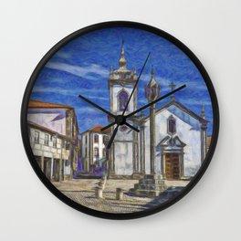 Trancoso, Portugal Wall Clock