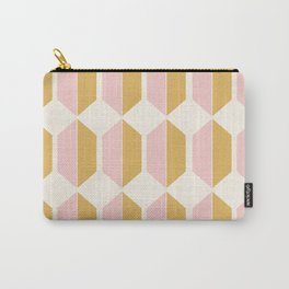 Hexagonal Pattern - Sunrise Carry-All Pouch