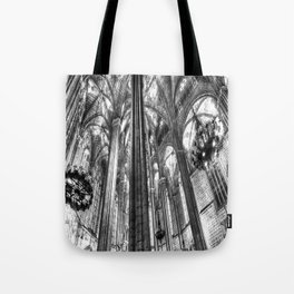 Barcelona Cathedral Tote Bag