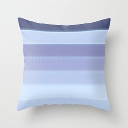 Tagged Winter no41 Throw Pillow
