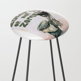Zombie + Shakespeare Counter Stool