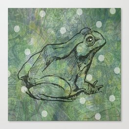 The Magical Frog Canvas Print