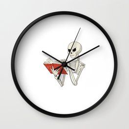 I Am A Journalist Design for a Journalist or Reporter Wall Clock