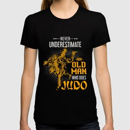 Retired Judoist Men T-shirt