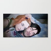 eternal sunshine Canvas Prints featuring Eternal Sunshine by Giulia Mariella