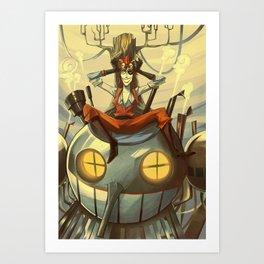 Russo Pagliaccio Art Print