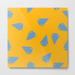 ARROWHEADS-GOLD Metal Print