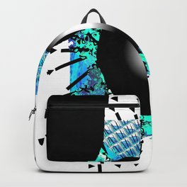 Blue and black Hole Backpack