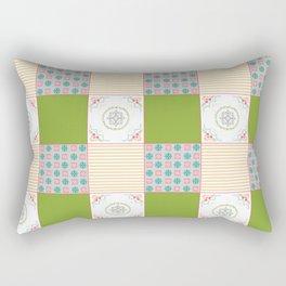 Patchwork Counrty Fair Rectangular Pillow