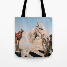 Desert Equestrian Tote Bag