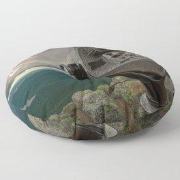 Lake Placid Vista Floor Pillow