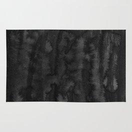 Black Ink Art No 2 Rug