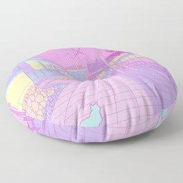 Kyoto Cats Floor Pillow