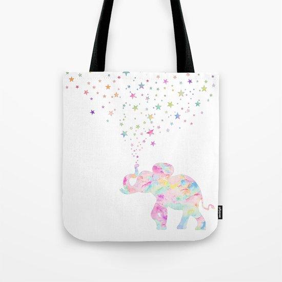 MAKE ME HAPPY ELEPHANT  Tote Bag
