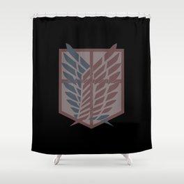 AttackOnTitan Shower Curtain
