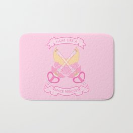 Space Princess Bath Mat