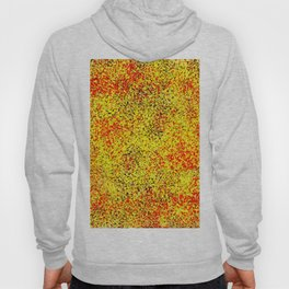 Flame - Abstract, red, yellow and black artistic representation of fire Hoody