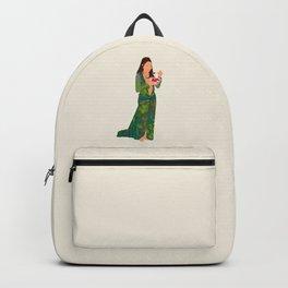 Jlo Eating Jello - Jennifer Green Dress Backpack