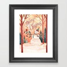 Christmas Card 2015 Framed Art Print