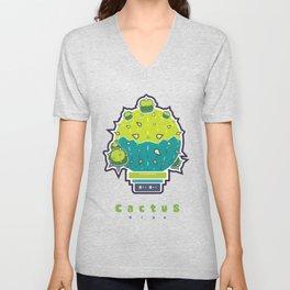 Cactus Vibe - FatBoy Unisex V-Neck