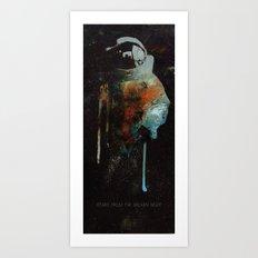 Cowboy Bebop Cosmonaut Art Print