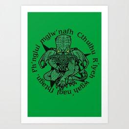 Call of Cthulhu Art Print