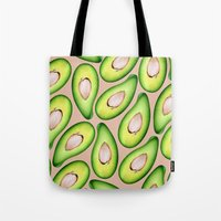 avocado Tote Bags featuring Avocado by Colocolo Design | www.colocolodesign.de