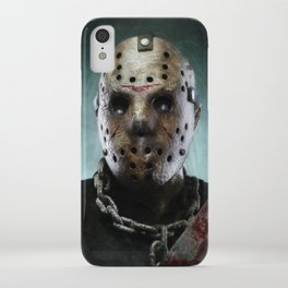 Jason Voorhees iPhone Case