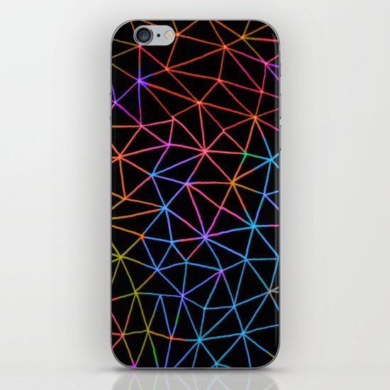 Geometric Glow iPhone & iPod Skin