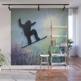 The Snowboarder: Air Wall Mural