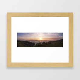 The Rocky Pacific Framed Art Print