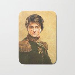 Harry General Portrait Painting   Fan Art Bath Mat