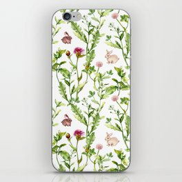 Easter Bunny Garden iPhone Skin