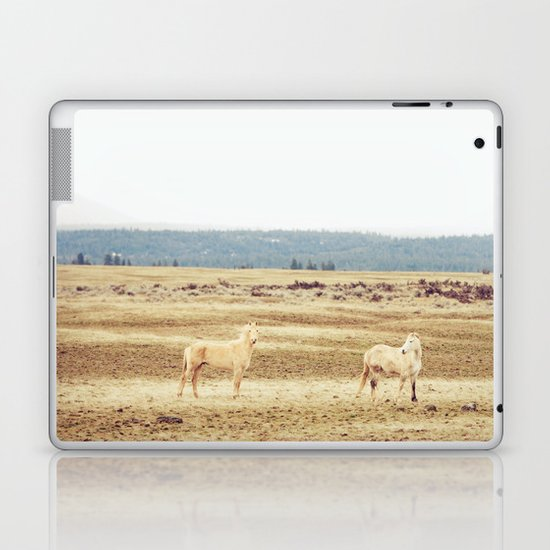 Two Oregon Horses Laptop & iPad Skin