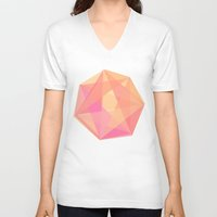gem V-neck T-shirts featuring Gem by Nic Squirrell