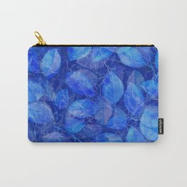 Frozen Leaves 34 Carry-All Pouch