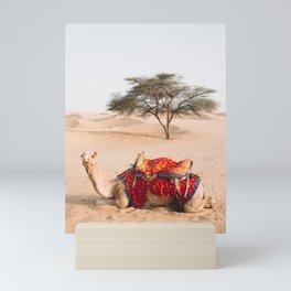 Camel in the Thar Desert in Rajasthan, India   Travel Photography   Mini Art Print