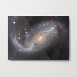 Barred Spiral Galaxy NGC 1672 Metal Print