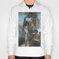 runner Hoodies featuring holy runner by Rosanne van Leusden