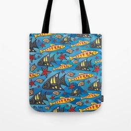 Bondi Blue Tote Bag