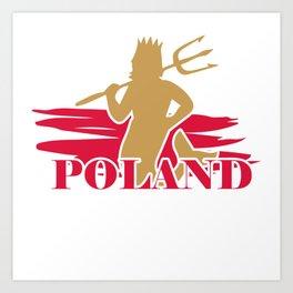 Poland Polish gift Warsaw Polska Art Print